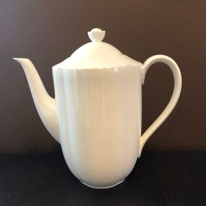 Coffee Pot & Lid Arco Weiss